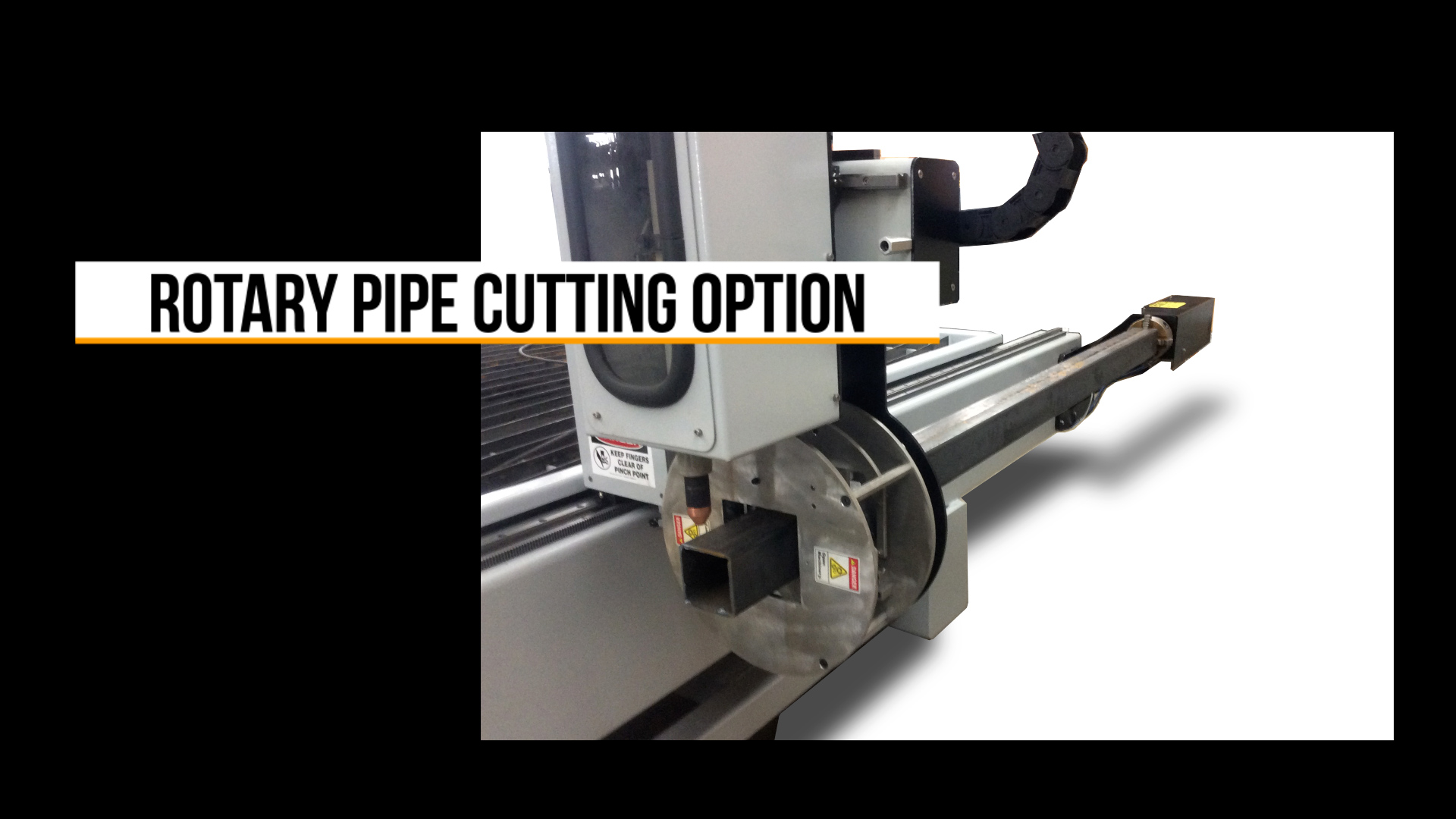 Rotary Pipe Cutter Attachment - Video Cover