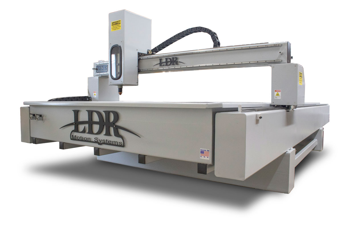Industrial CNC Plasma Table - Front Right View