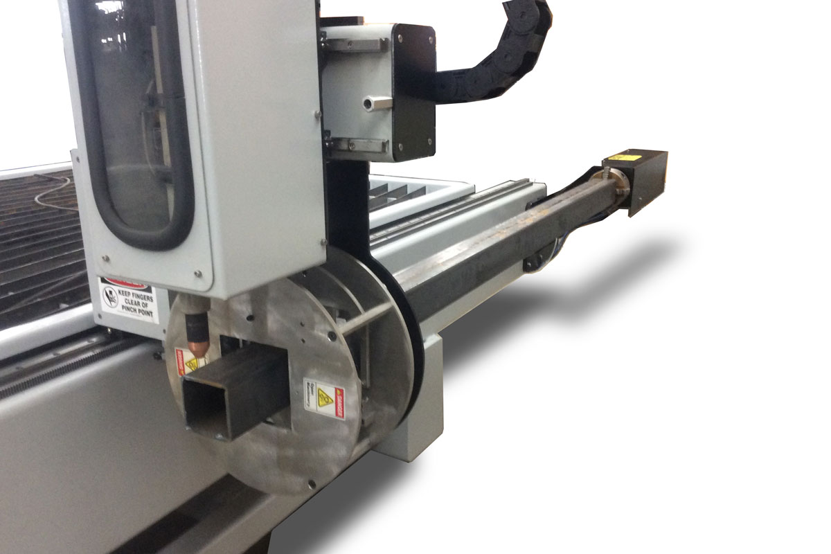 Plasma Table - Rotary Pipe Cutter Attachment