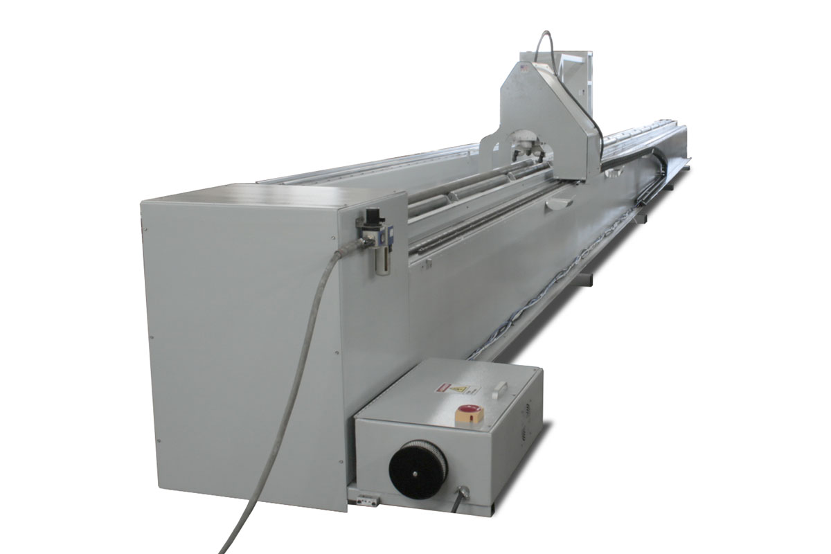 CNC Pipe Cutter - Back View
