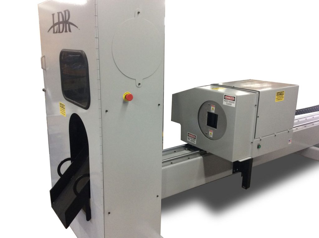 CNC Pipe Cutter - Side View - POS