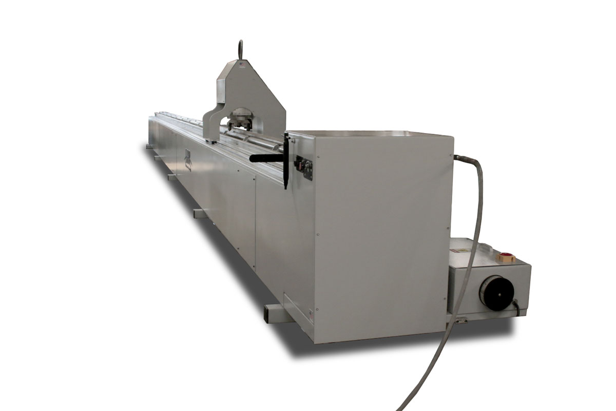 CNC Pipe Cutter - Front Side View