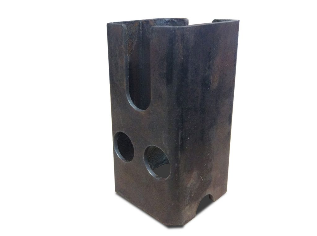 Plasma Tube Cutter Sample Cut - Holes and Notches in Tube