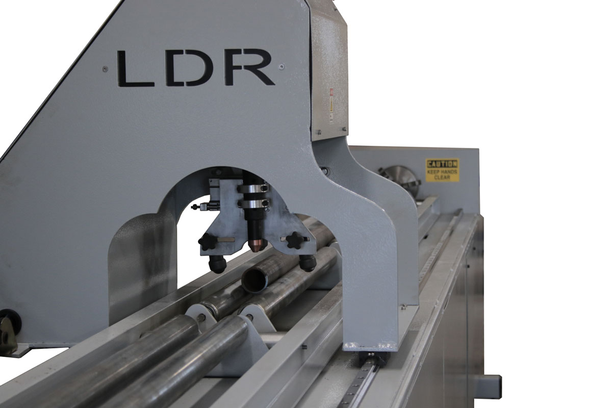 CNC Pipe Cutter - Side of Torch Head