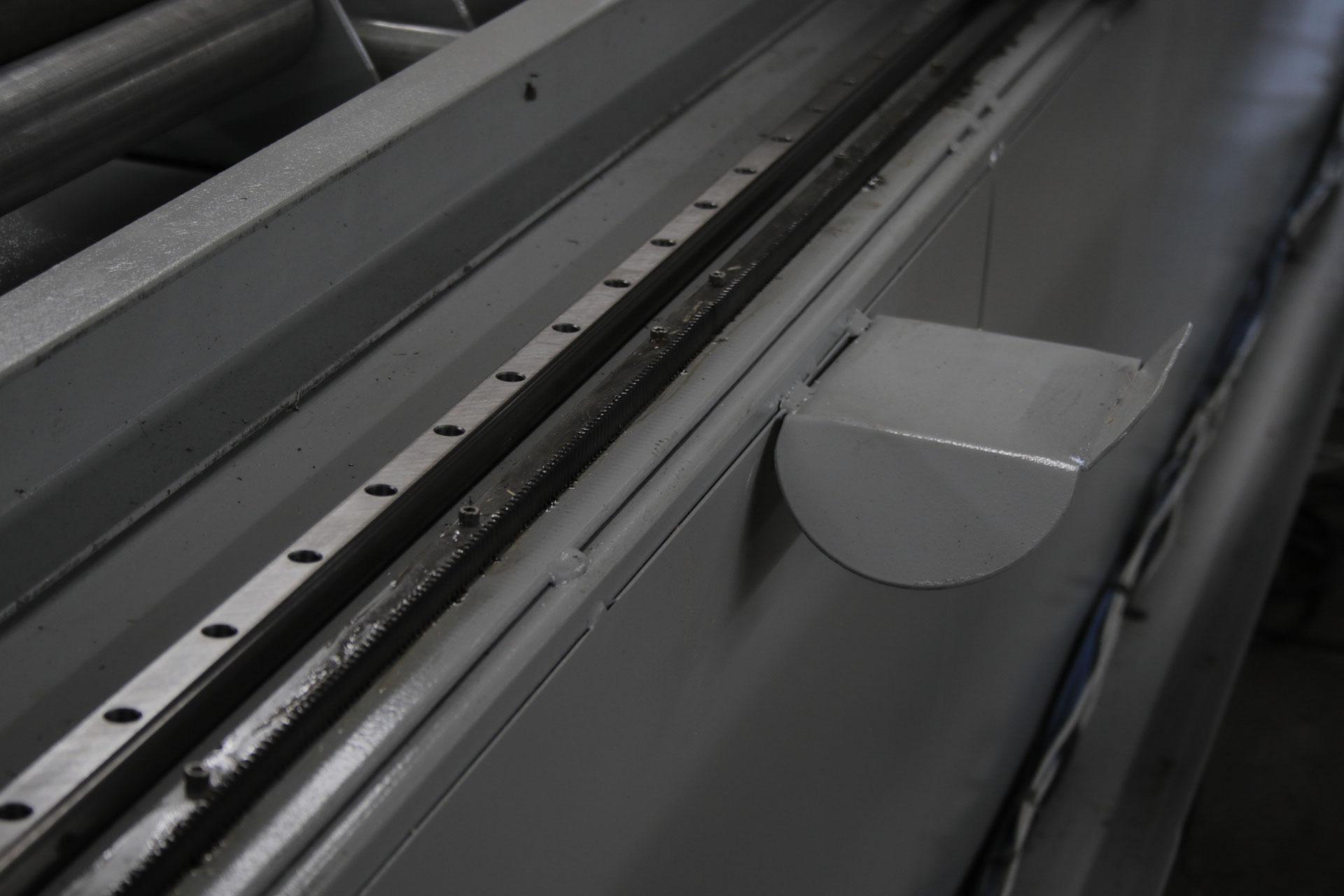 Oversize CNC Pipe Cutter - Side Rails