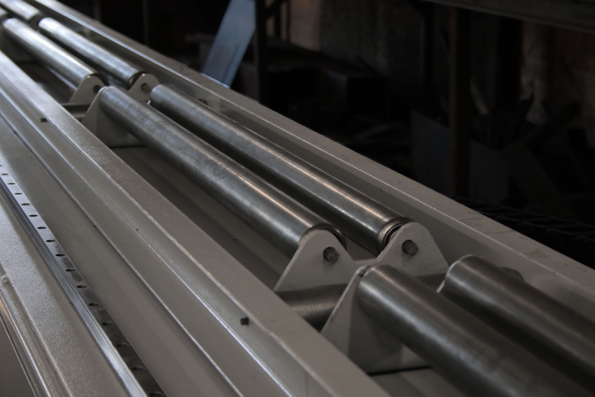 CNC Pipe Cutter - Oversize Pipe Rollers